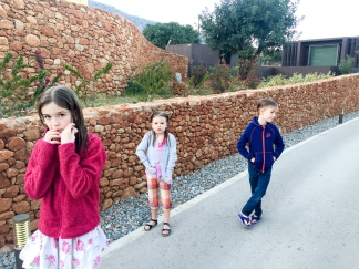 "Our kids heading to ""pre-aperitivos"""