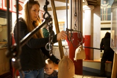 Interactive exhibits at the Museum of London
