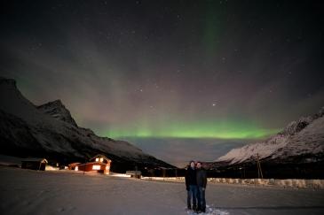 Northern Lights selfie