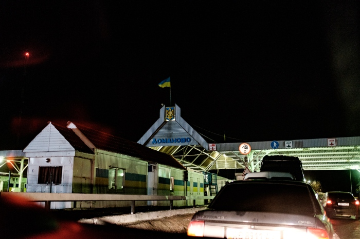 Entering the Ukraine