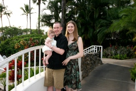Us at the Kea Lani in Maui