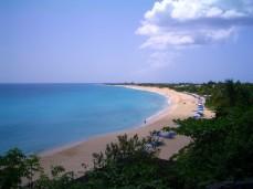 The beach at the La Samanna Resort